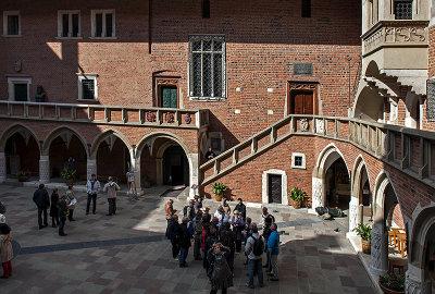 Collegium Maius, Gothic cloister