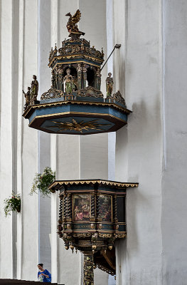 Church of St. Mary, pulpit