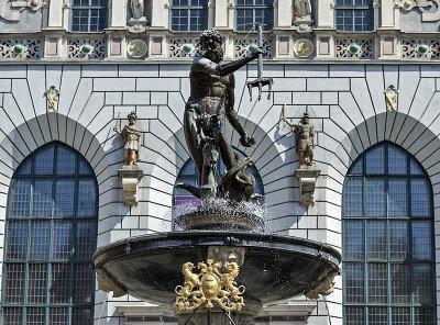 Fountain of Neptune, Artus Court