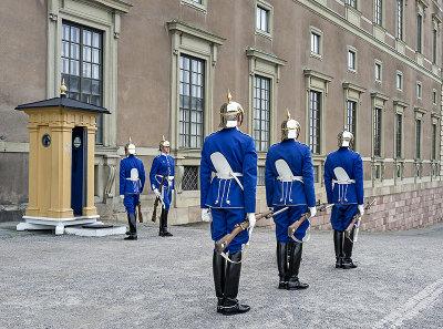 Royal Palace, changing of the guard