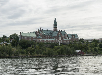 Stockholm by water, grand building