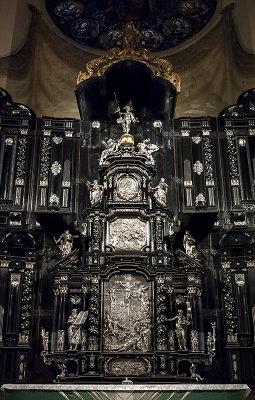 Storkyrkan, silver altar