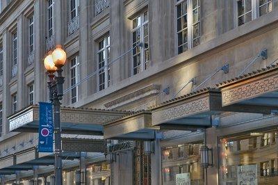 The old Garfinkels department store