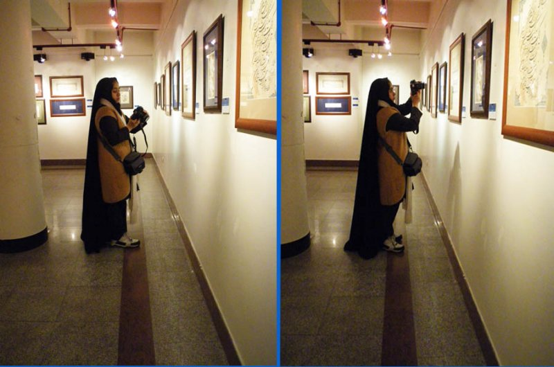 Soghra in the Gallery
