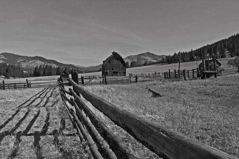 Old Farm near Ellensburg Washington