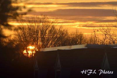 Spectacular Spring Sunrise