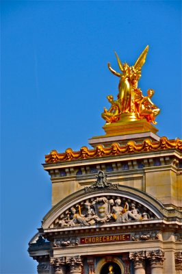 Paris Opera  Garnier - detail