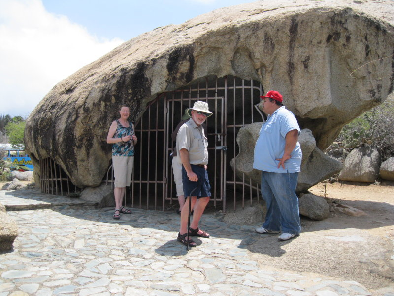 The Ayo Rock Formation & Indian Cave Drawings