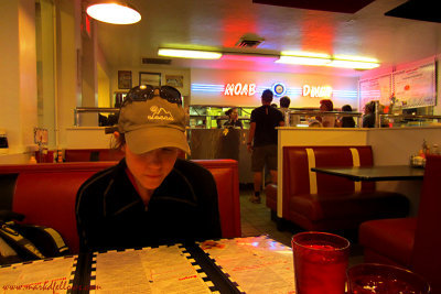 Moab Diner(an ok meal)