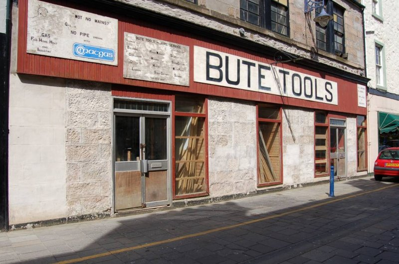 Old Bute Tools Shop