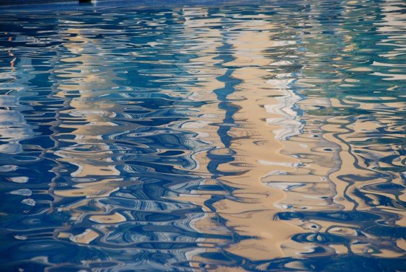 Dreams Los Cabos Pool Reflections