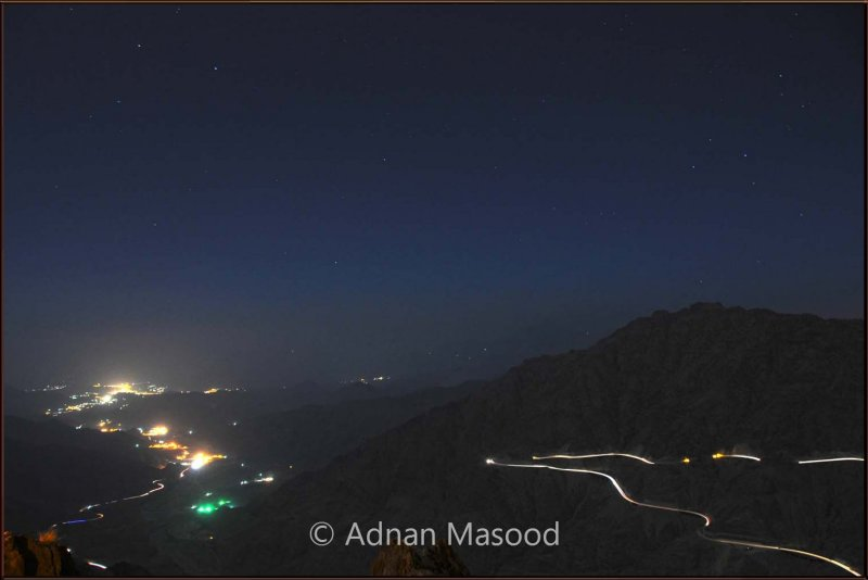 King Fahad escarpment in night.jpg