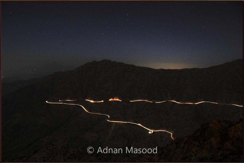 King Fahad escarpment in night.jpg