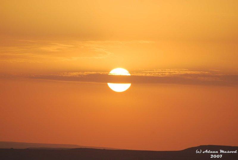 50- Sunset in Desert.JPG
