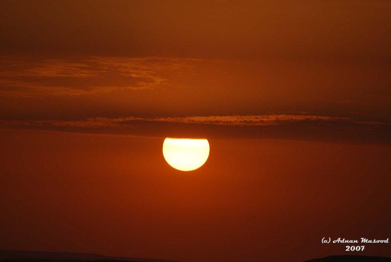 51- Sunset in Desert.JPG