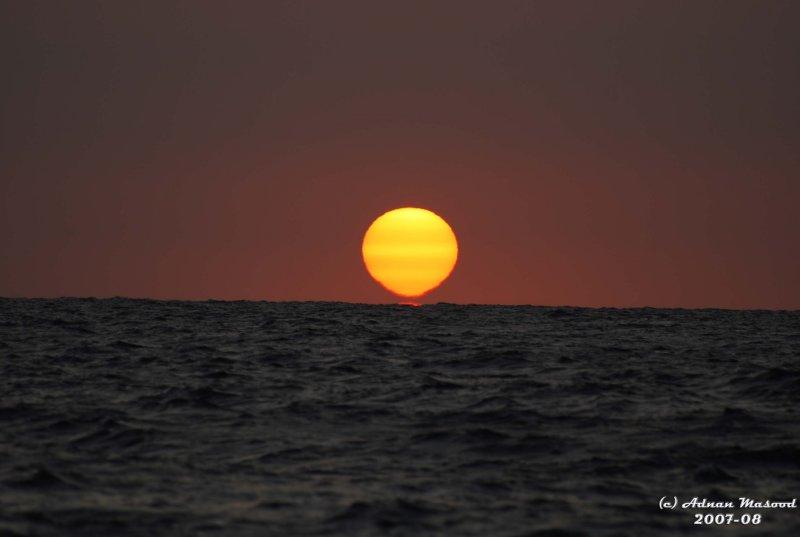 Sea and sunset-2.JPG