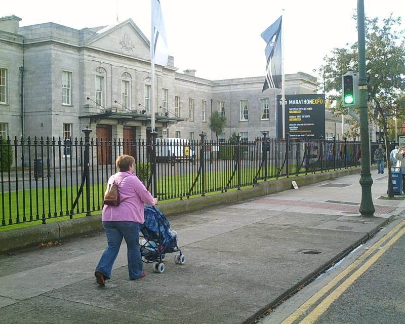 The RDS, site of the expo on Saturday and Sunday
