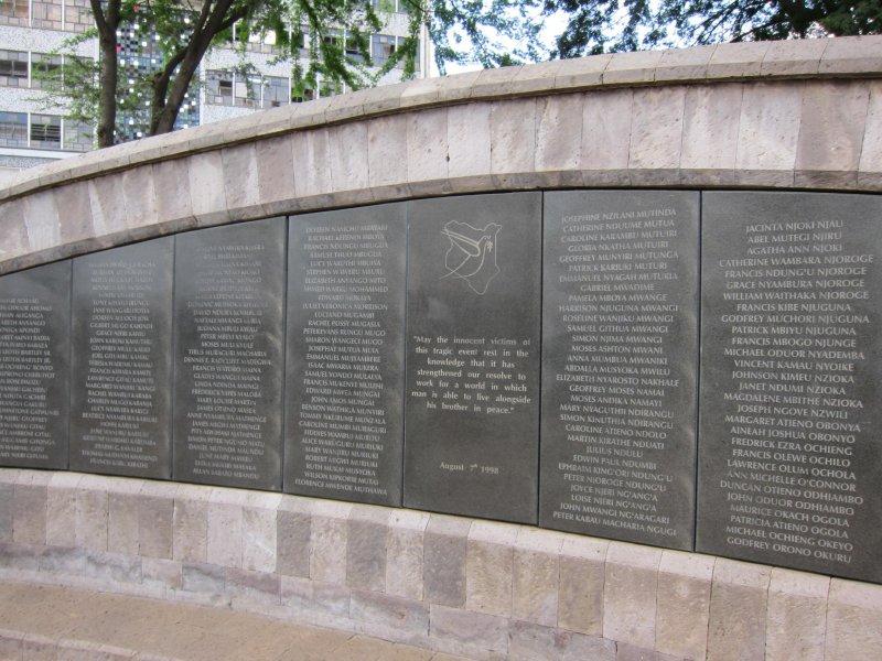 US Embassy Memorial