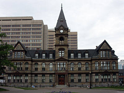 HRM City Hall.