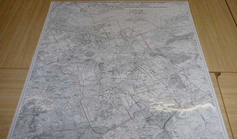 Inventaire des chemins usagers lents à Kraainem, Zaventem et Wezembeek-Oppem.