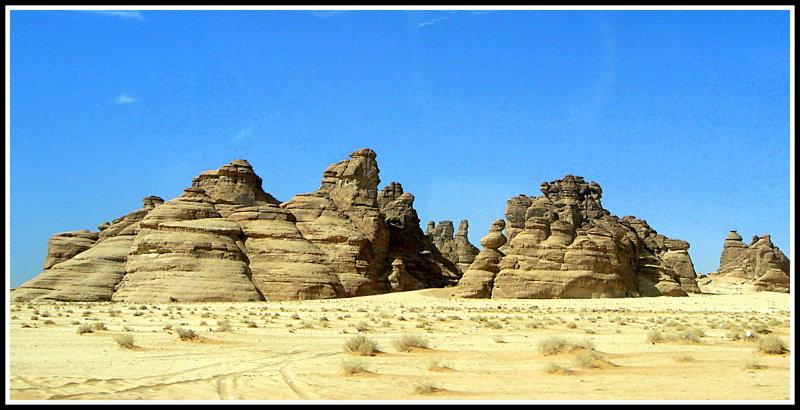 Madain Saleh, Saudi Arabia