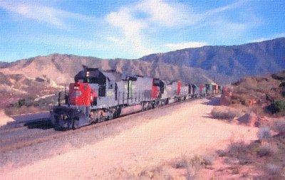 Southern Pacific through Cajon