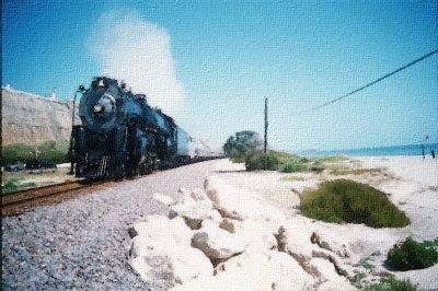 Steamin' through San Clemente