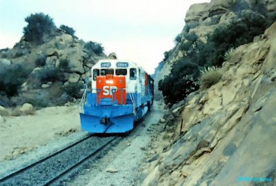 Southern Pacific Olympic unit heads for LAUPT