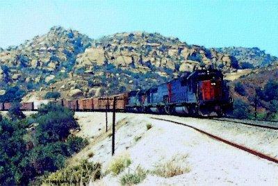 Southern Pacific in Santa Susana