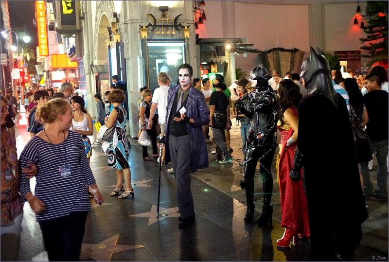 Acting Like A Joker...