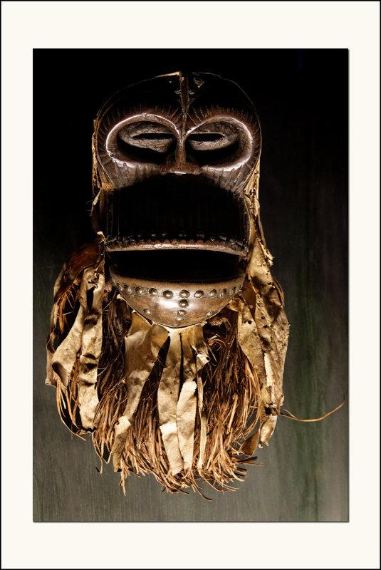 Masque singe articulé