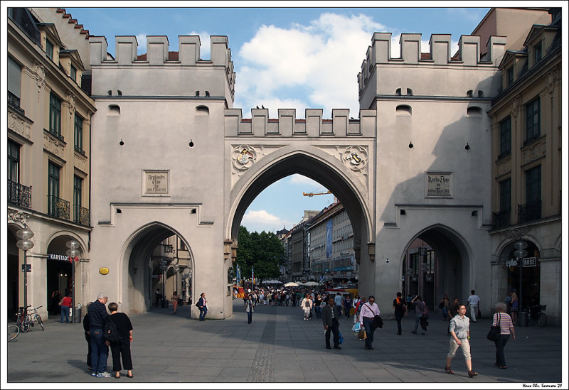 City gates of Munich