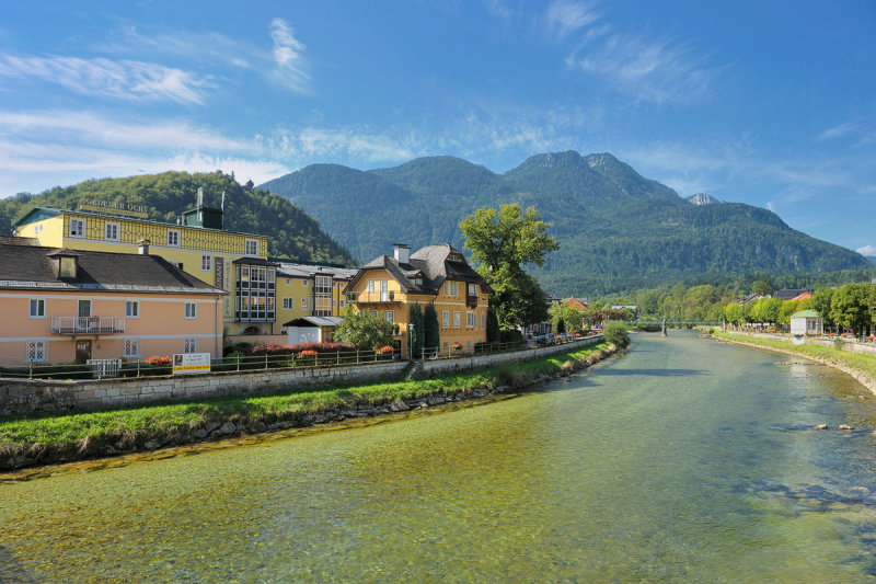 View over River Traun