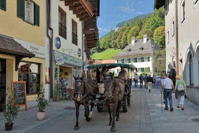 Streetview from St Wofgang im Salzkammergut