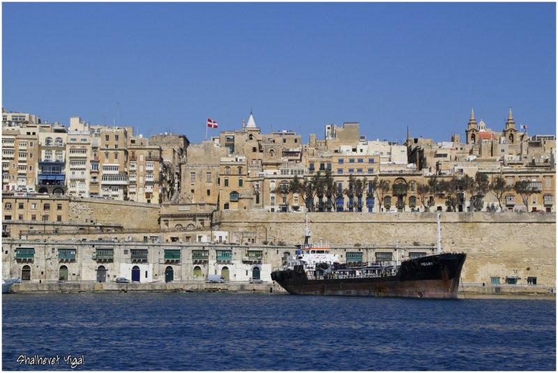 Valletta, grand harbour ,Malta