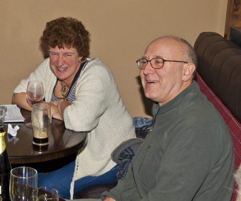 Anne and David - Pembroke Bar