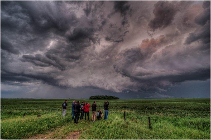 South Dakota Storm Clouds