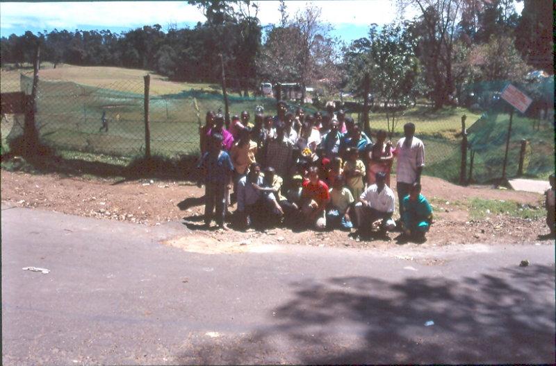 de tornada de Kodai Kanal amb tot un poble que em van portar en el seu bus