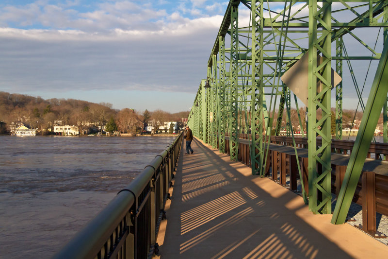 Free Bridge connecting New Hope and Lambertville
