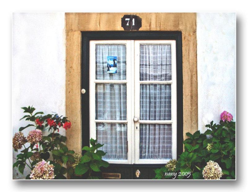 Window on door n� 71