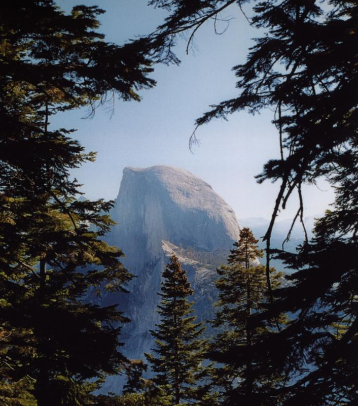 Half Dome - framed