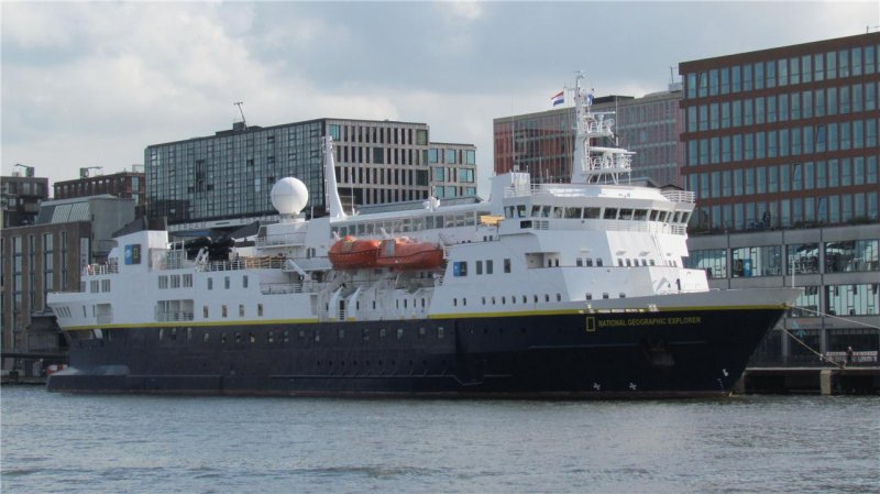 National Geographic Explorer - IMO 8019356