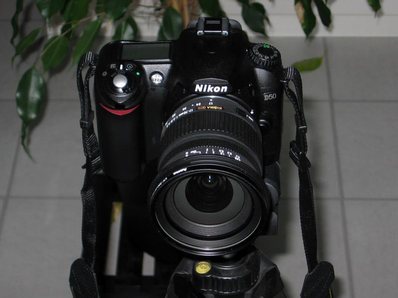 Nikon D50  Sigma 17-70mm f/2.8-4.5 DC Macro