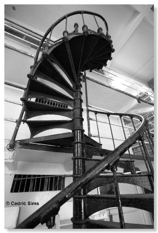 Alcatraz  Spiral staircase