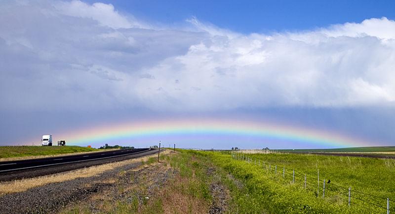 Rainbow - Low on the Horizon