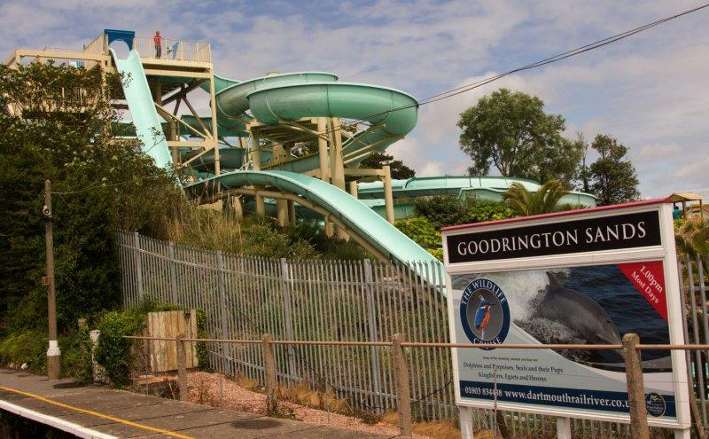 SteamTrain at Goodrington