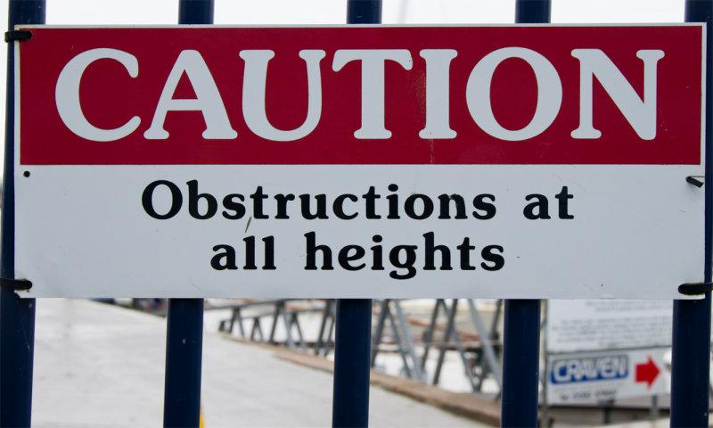 No way through then!