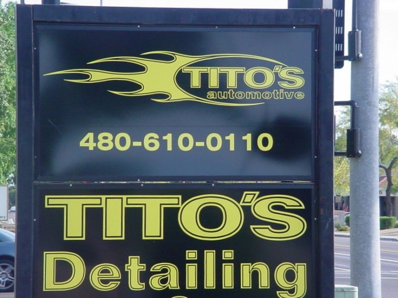 480-610-0110<br > Titos Detailing<br> formally Dans SS