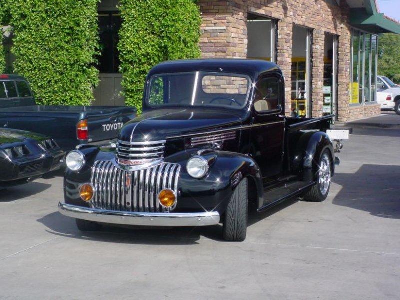 1940 Black Pickup