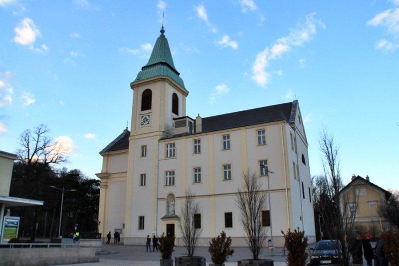 Josefskirche en Kahlenberg
